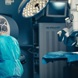 robotic surgery requires precisely machined parts